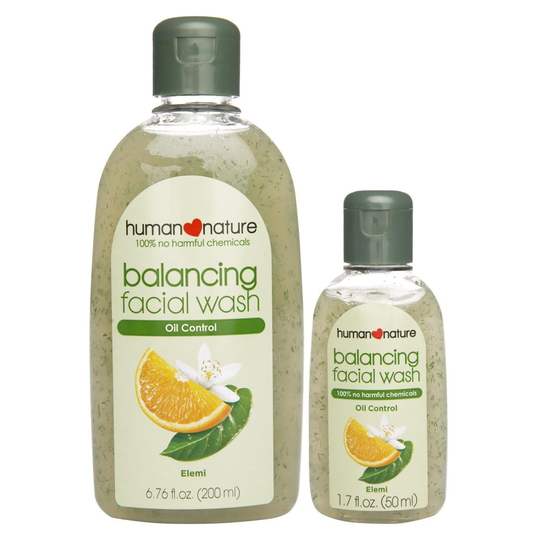 Human Heart Nature Balancing Facial Wash TheMhayonnaise