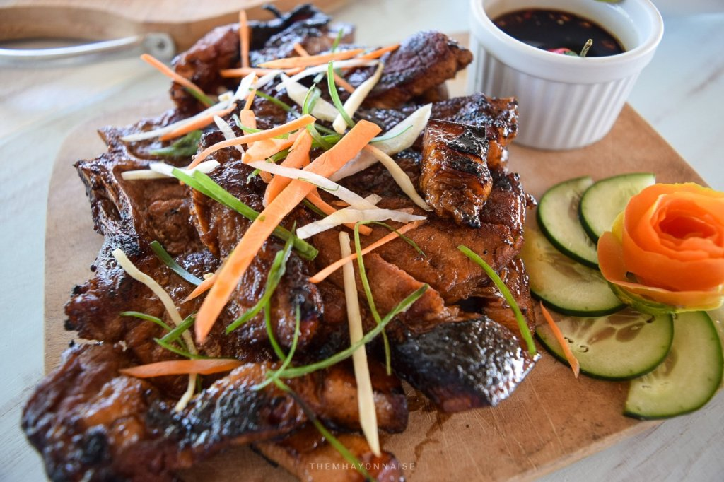 pork barbecue | ciao pizzeria by the sea | sundowners bolinao | themhayonnaise