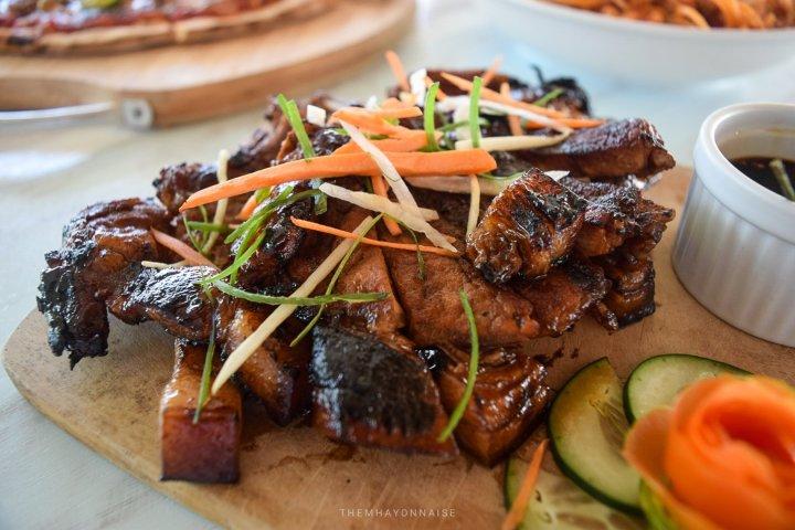 pork barbecue | ciao pizzeria by the sea | sundowners bolinao | themhayonnaise