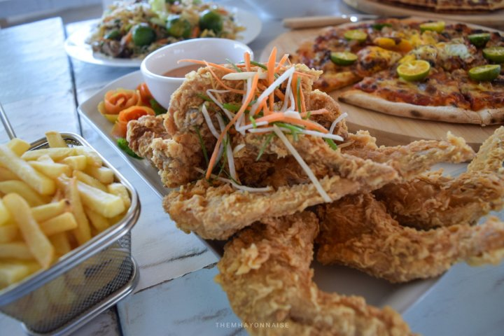 fried chicken wings | ciao pizzeria by the sea | sundowners bolinao | themhayonnaise