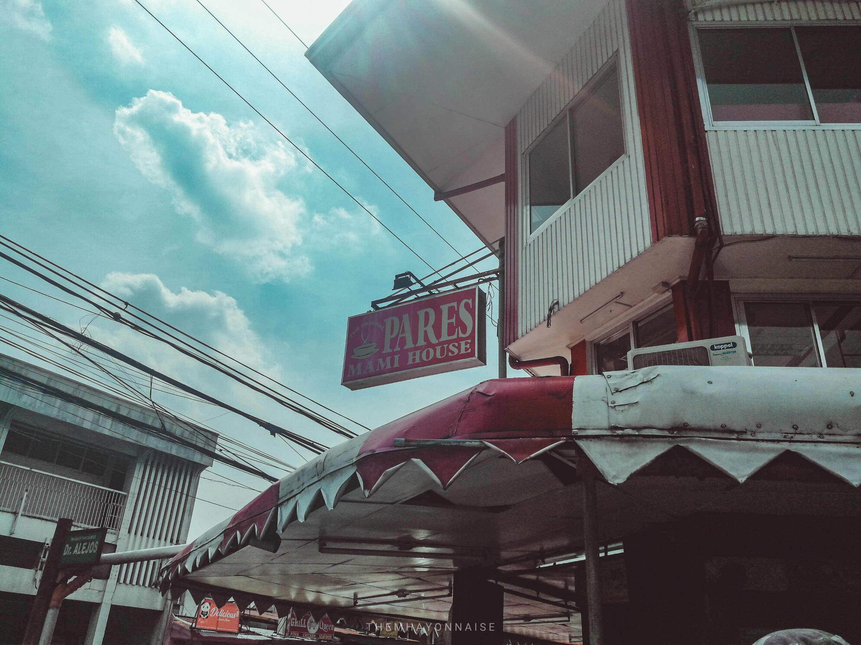 front view of one of the carienderias and famous restaurants in metro manila